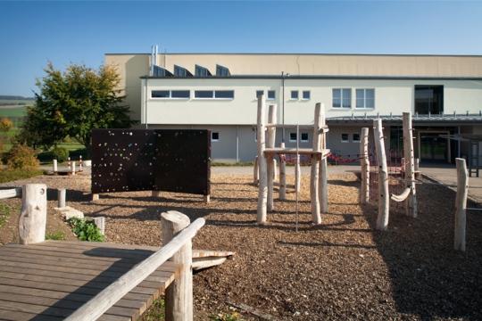 Auwiesenschule Horheim mit Schulsportanlage