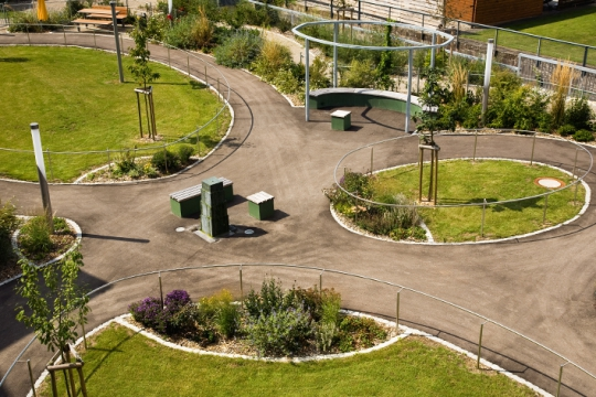 Neugestaltung Garten der Sinne Wutöschingen