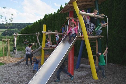 Neugestaltung Spielplatz Lienheim, Hohentengen