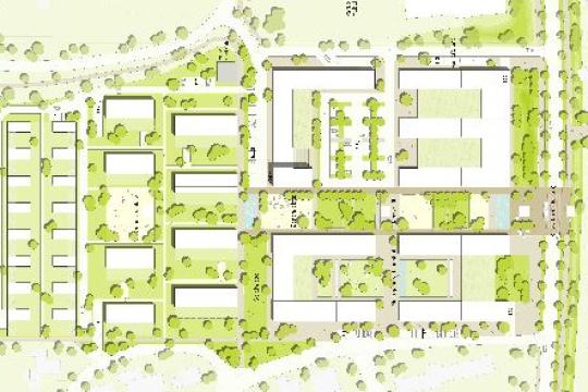 Ideenwettbewerb Riedpark, Lauchringen