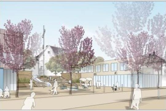 Städtebauliche Erneuerung am Bürgerplatz in Murg