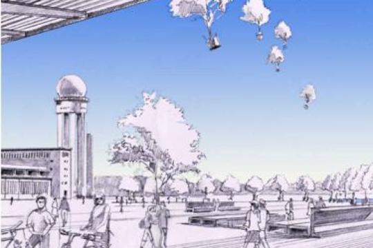 Wettbewerb Parklandschaft Tempelhof Berlin